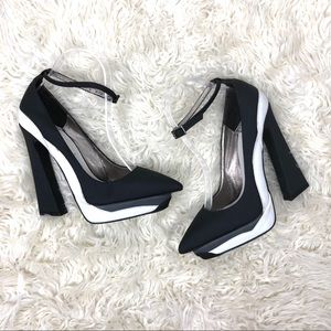 Jeffrey Campbell Ankle Strap High Heels 7.5
